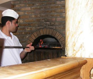 italiaanse pizzaoven